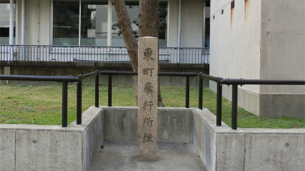 東町奉行所跡碑
