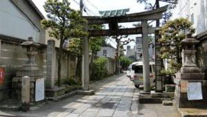 菅家邸址(菅大臣神社)